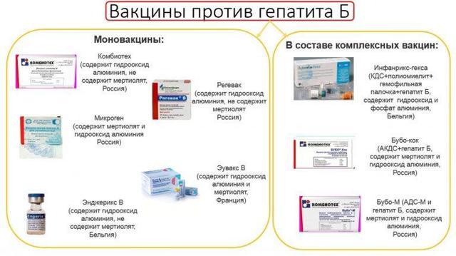 Прививка от гепатита В: график вакцинации, детям и взрослым