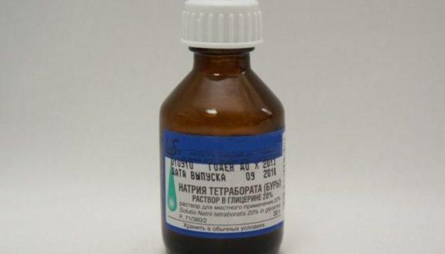 Натрия тетраборат от молочницы - что это, инструкция по применению
