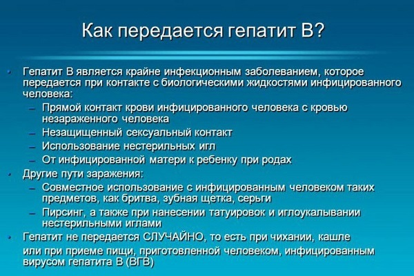 Гепатит В: симптомы у мужчин, первые признаки заболевания