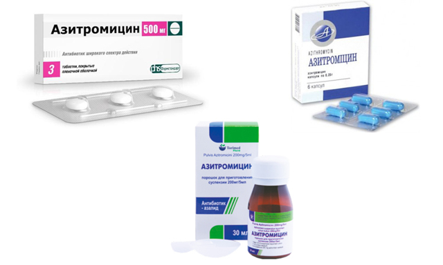Антибиотики при микоплазме: доксициклин, азитромицин (сумамед) и др.